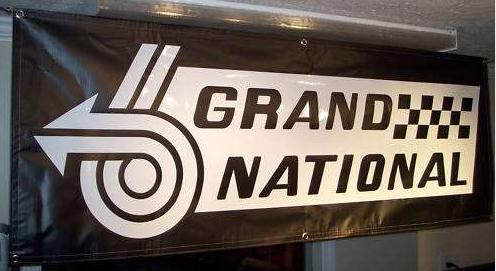 1986 buick grand national banner