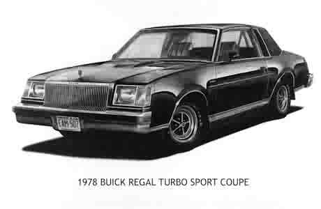 78 BUICK TURBO SPORT COUPE