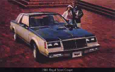 81regal SPORT COUPE