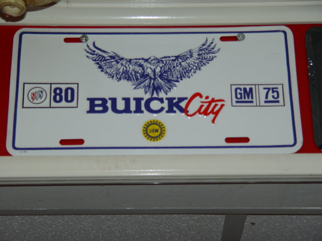 buick city plate