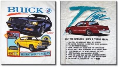 buick turbo regal shirts