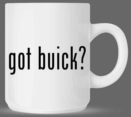 got buick coffee cup