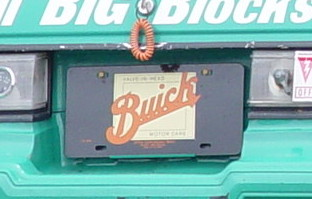 old buick logo plate