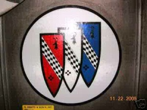 12 inch round decal