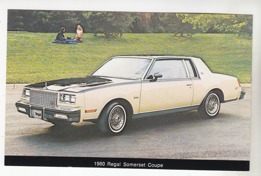 1980 Buick Regal Somerset Coupe postcard