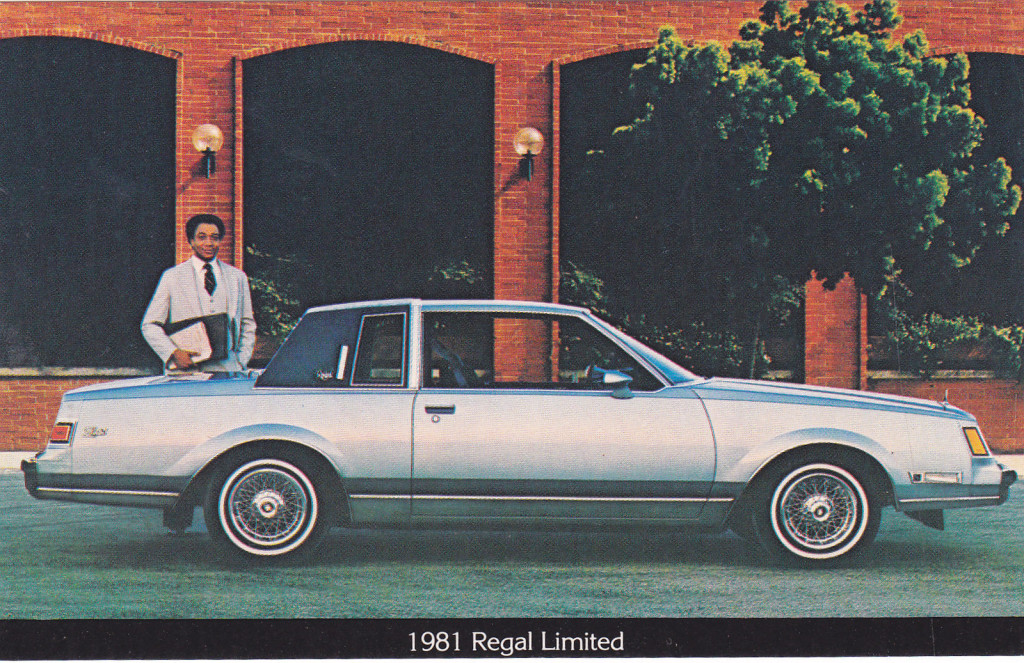 Buick regal dealer promotional postcards 1981 buick regal limited postcard fandeluxe Choice Image