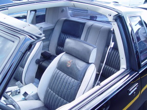 1984 buick grand national interior