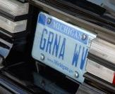 buick gn vanity license plate