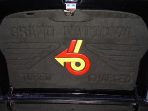 buick grand national trunk pad