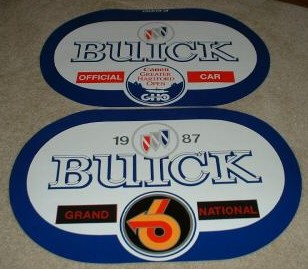 rare buick decals