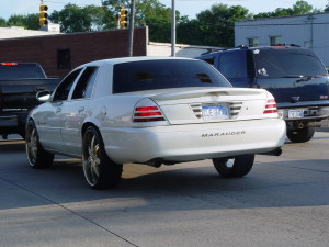 white mercury marauder