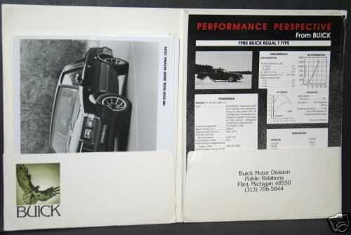 85 buick press kit 2