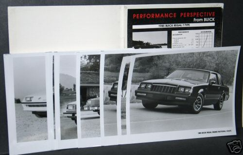 85 buick press kit 3
