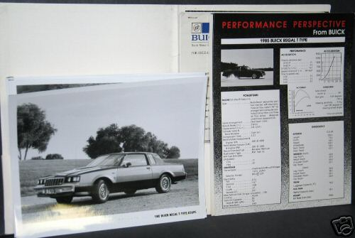85 buick press kit 4