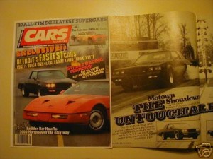 CARS ILLUSTRATED APRIL 87
