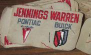 Jennings Warren Pontiac Buick patch