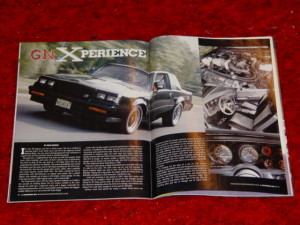 buick gnx in magazine