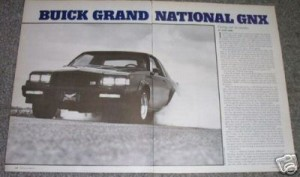 buick gnx road test from mag