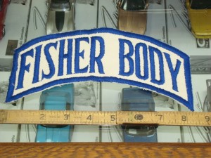 fisher body patch