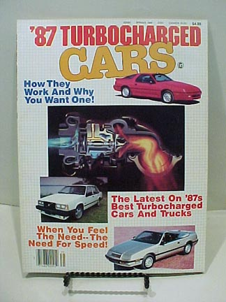 turbocharged cars mag spring 87