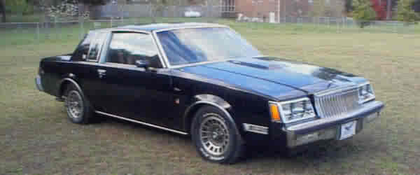 83 REGAL T TYPE