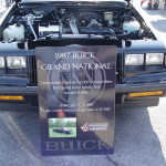 Buick Grand National car sign