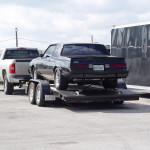 buick on trailer