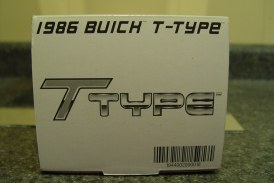 GMP 1:24 Scale Turbo Buick Series – 1986 Buick Regal T-type Dark Red