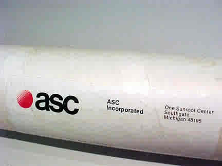 asc gnx poster maling tube