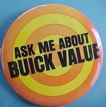 ask me about buick value button
