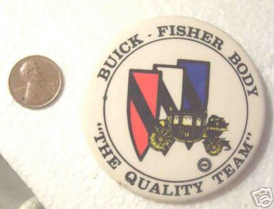 buick fisher body pin button