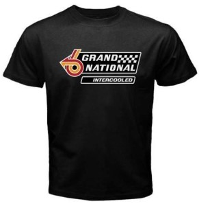 buick grand national intercooled logo shirt