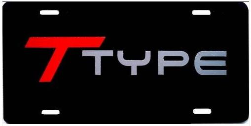 t-type license plate