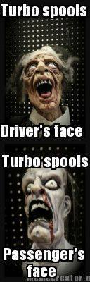 turbo spool