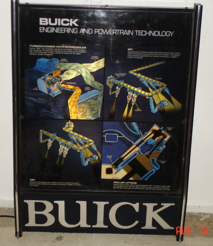 Buick Engineering Sign