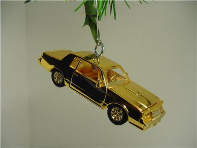 buick car christmas ornament