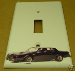 buick gn light switch cover