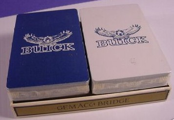 buick hawk playing cards