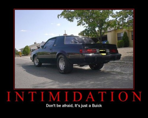 buick intimidation