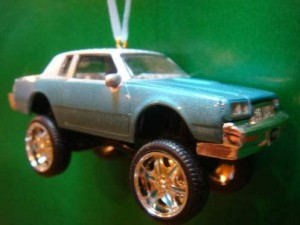 buick regal christmas ornament