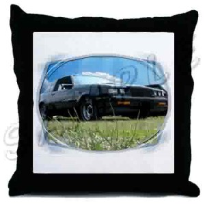 buick regal throw pillow