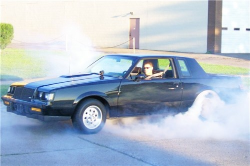 burnout in buick