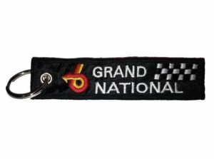 embroidered buick grand national keychain