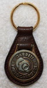 garrett turbocharger keychain