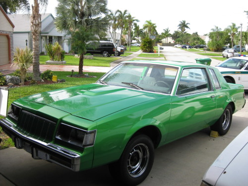 green buick gn