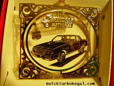 buick holiday ornament