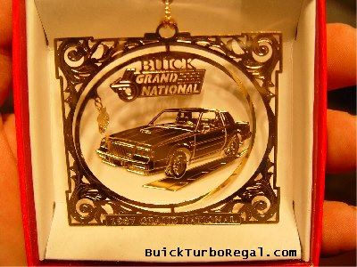 buick grand national holiday ornament