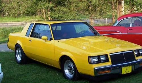 yellow turbo buick