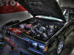 1987 buick gn engine