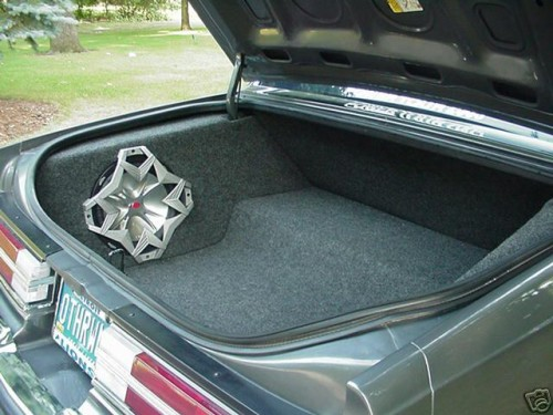 buick regal trunk speaker